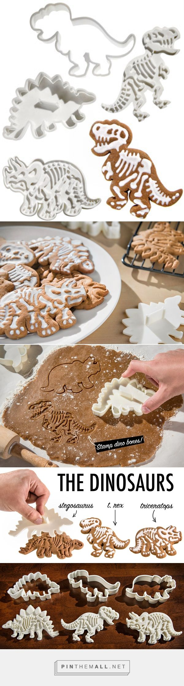 Dig-Ins Dinosaur Fossil Cookie Cutters
