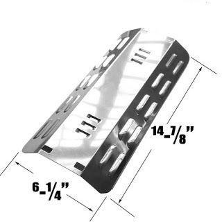 Grillpartszone- Grill Parts Store Canada - Get BBQ Parts, Grill Parts Canada: Dyna Glo Heat Plate   Replacement Stainless Steel ...