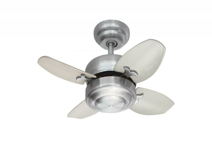This Ceiling Fan Has A Steel Finish And Is Part Of The Mini 20 Collection Http