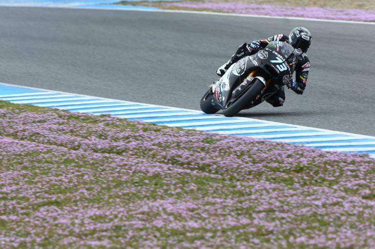 Alex Marquez, Jerez Moto2 test, feb 2015