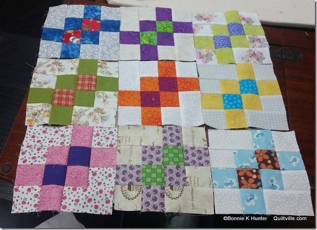 Quiltville's Quips & Snips!!: Garlic Knots Blocks and a Book Cover!