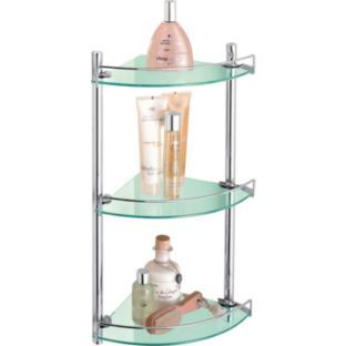 Photo Album Gallery Buy Living Corner Glass and Wire Rack at Argos co uk Your Online Bathroom ShelvesGlass
