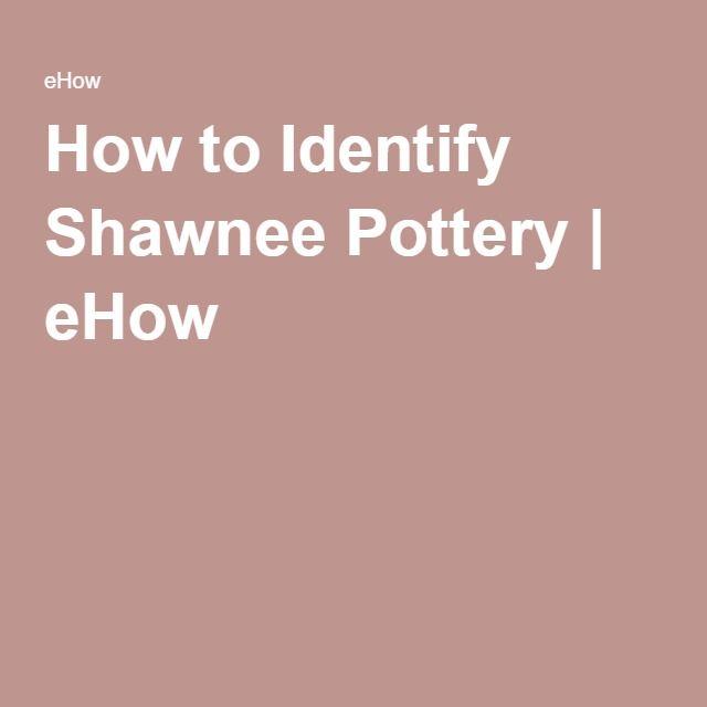 How to Identify Shawnee Pottery | eHow