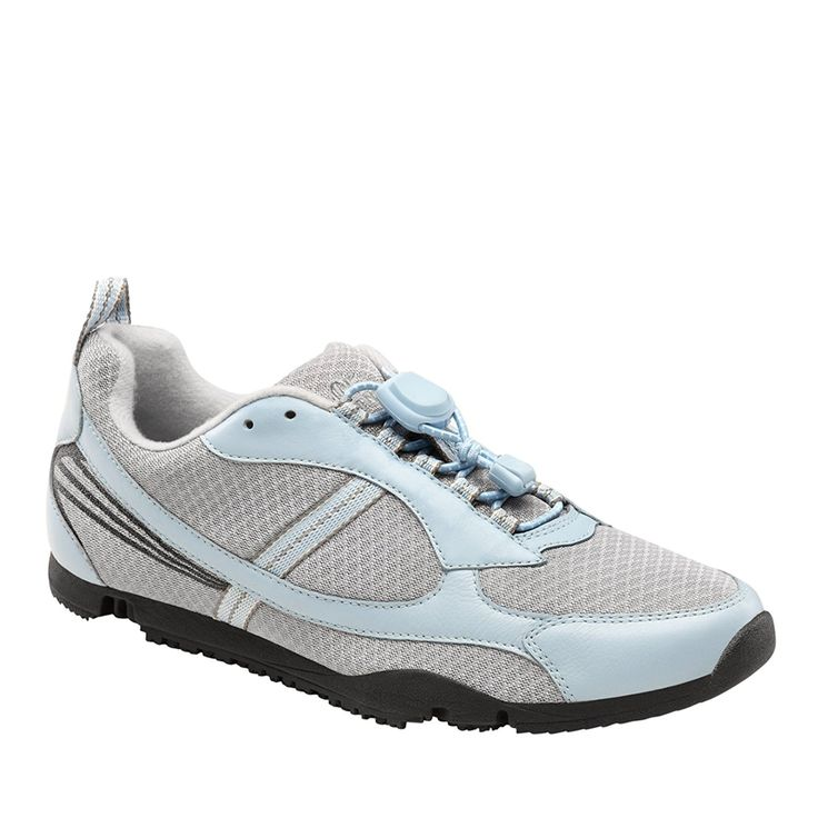 Dr  Comfort Women s Sandy Light Blue Flex OA Athletic Shoes   T6XYK8BLU