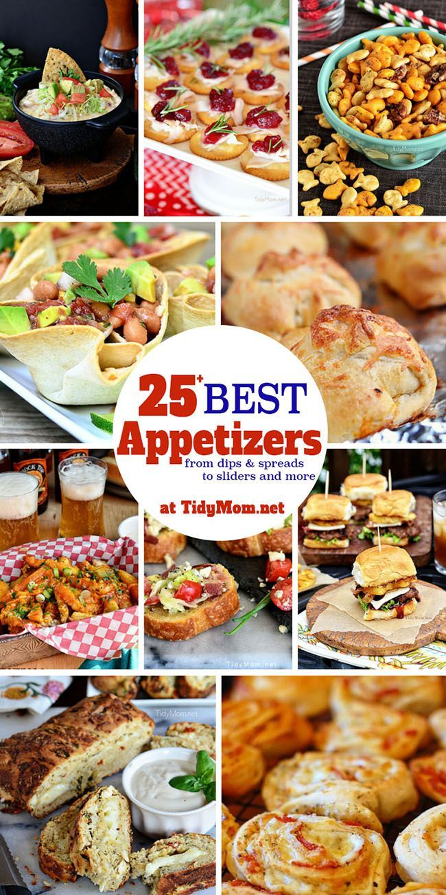 Cool easy appetizer recipes