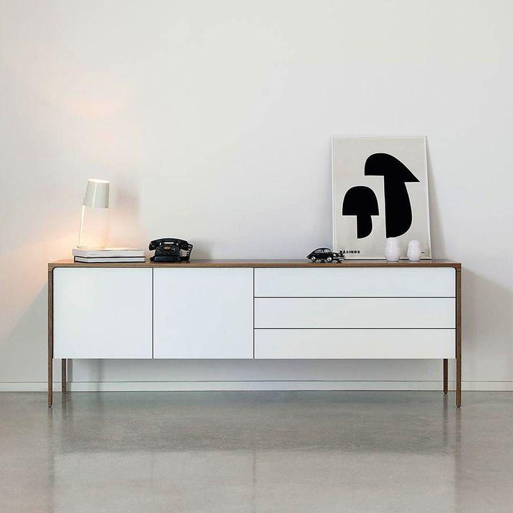 Mit Dem Design Sideboard Tactile Von Punt Mobles Holen Sie Sich Ein Stck Spanische Leichtigkeit In