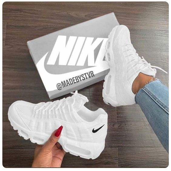 Nike | White sneakers | Shoes | inspiration | More on ...