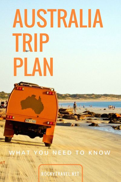 A guide on how to create an Australia Trip Plan that is cost-effective and allows you to travel in Australia at your own pace and without breaking the bank.