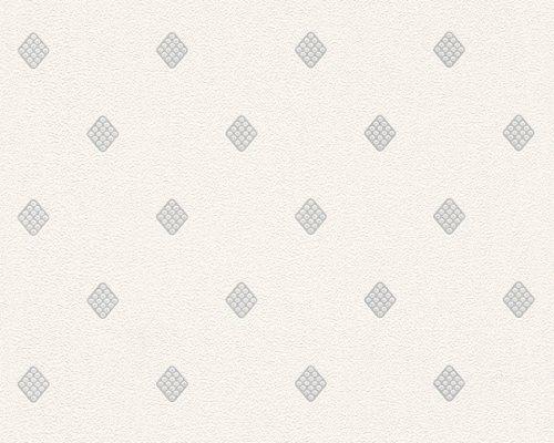 Vinylová tapeta na stěnu krémová, metalická 30319-1 / Tapety na zeď 303191 New Orleans AS (0,53 x 10,05 m) A.S.Création
