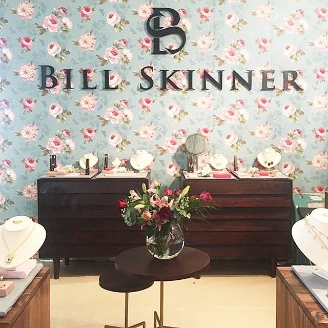 🌿🌸:: Bill Skinner || Bijorcha Paris :: 🌸🌿 We're in Paris at @bijorhca_paris debuting our new AW17 collection! Our talented team have put together our gorgeous new stand to showcase our favourite season to date.   Pop by stand G067 to say hello! 🐝💫  .  .  .  #BillSkinner #paris #france #AW17 #aw17collection #wallpaper #jewellerylovers #bijorhca #bijorchaparis #fashion #parisfashion #jewellerydesigner #design #vm #floral #retro #preview #launchingsoon #lovejewellery