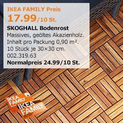 Holzboden-Angebot