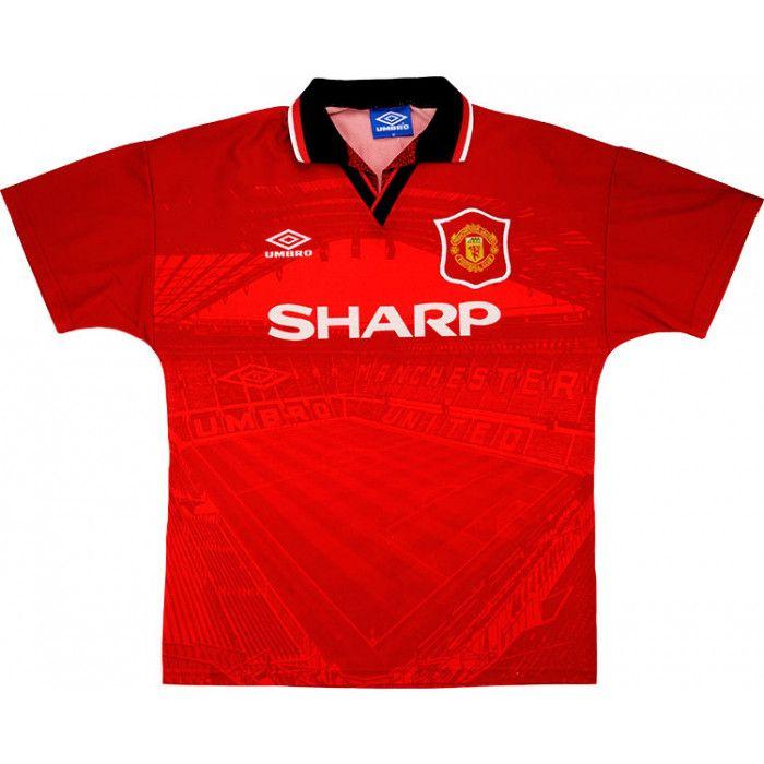 1994 96 Manchester United Home Shirt Beckham 24 Excellent Xxl Classic Football Shirts Vintage Football Shirts Shirts