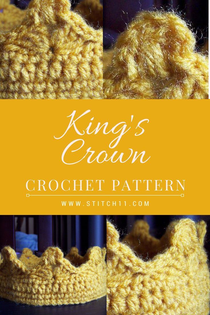 Kings Crown Crochet Pattern This Free Crochet Pattern Is For All