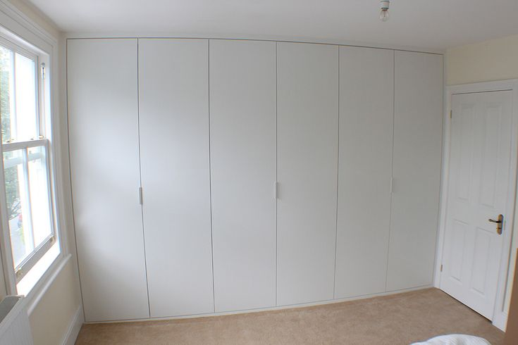 Full Wall Fitted Wardrobe In Chiswick Hammersmith Home