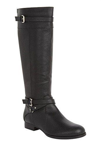 Comfortview Women's Janis Leather Wide Calf Boot Black,12... https://www.amazon.com/dp/B00DF4KCQU/ref=cm_sw_r_pi_dp_x_btw7xb8YGNF5F