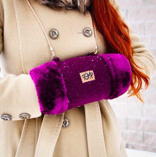 для зимы муфты Fur-Free