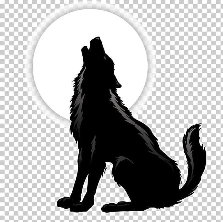 Gray Wolf Coyote Silhouette Png Animal Animals Aullido Black Black And White Animal Silhouette Wolf Background Black Cat Illustration