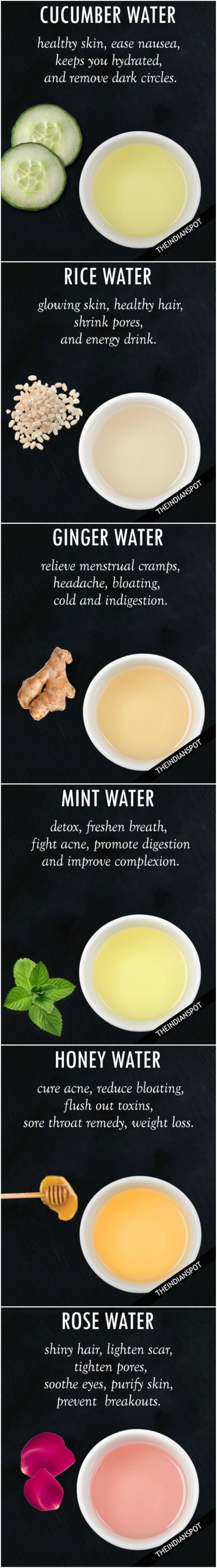 best water remedies