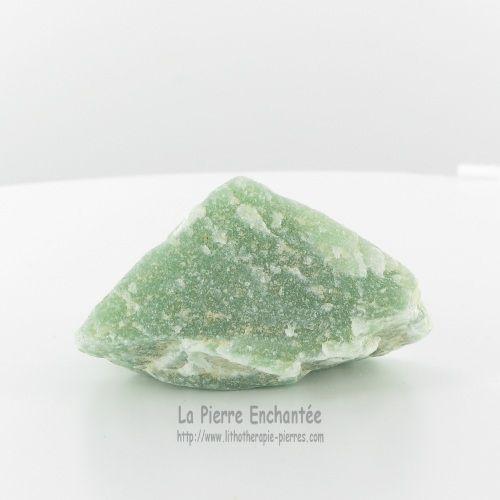 Lithotherapie - La Pierre Enchantee : Aventurine Verte Minéral Brut