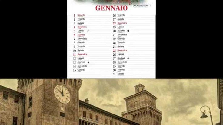 """Calendario 2015 """" scorci d'Italia """""""