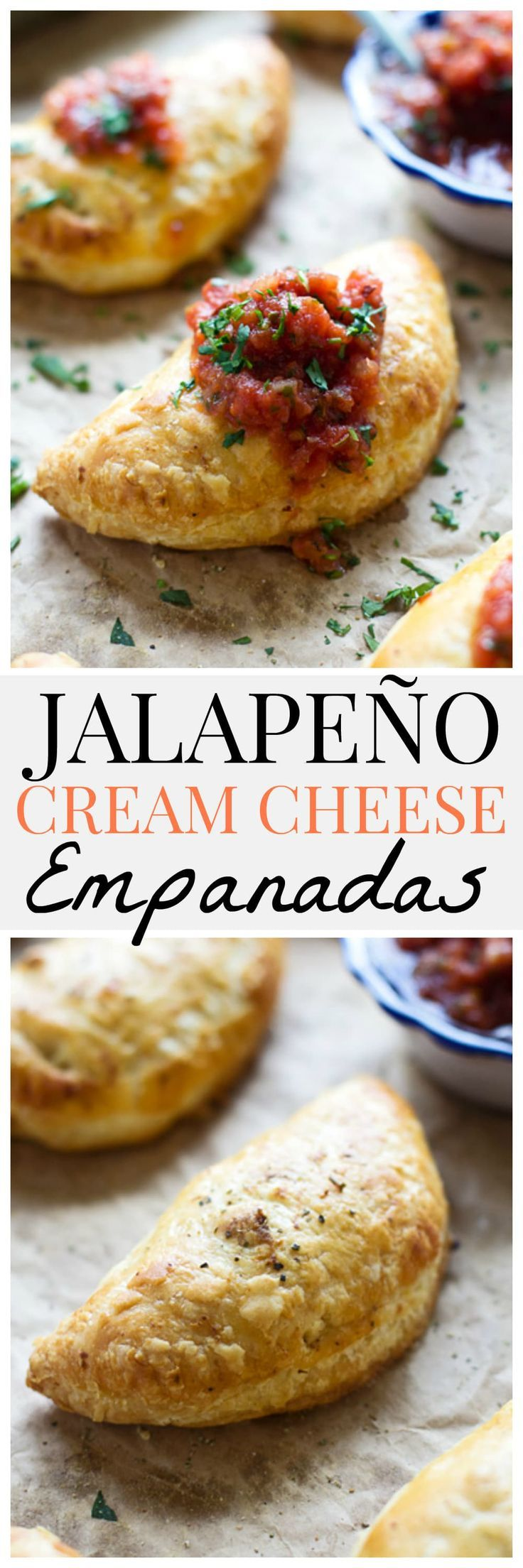 Creamy Jalapeño Chicken Empanadas