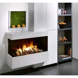 De #Faber Cassette L Opti-Myst is een eenvoudig in te bouwen cassette en te plaatsen is naar eigen creativiteit. #Elektrischekachel #ElektrischeHaard #Kampen #Interieur #Fireplace #Fireplaces
