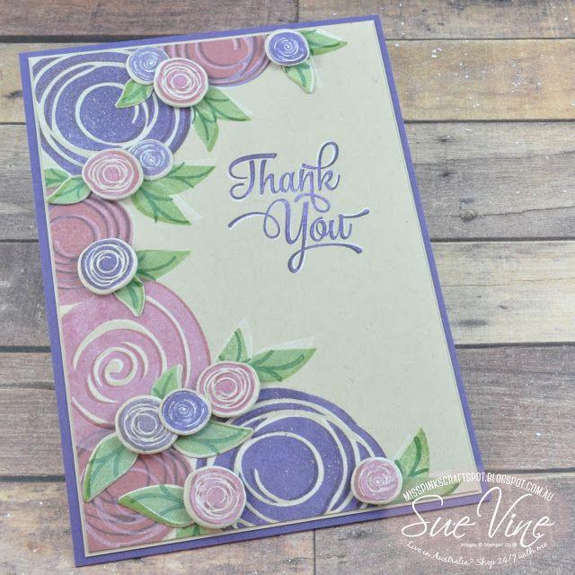 Miss Pinks Craft Spot: Swirly Bird | Crazy Crafters Blog Hop with Mikaela Titheridge