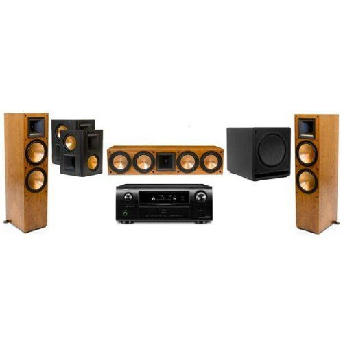 Klipsch RF-7II and Denon AVR4311 Home Theater System Package - Each (Cherry) by Klipsch. $7999.00