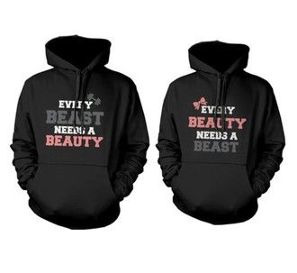 ❤ sweater cute couple hoodies couple couple sweaters matching couples lovers…