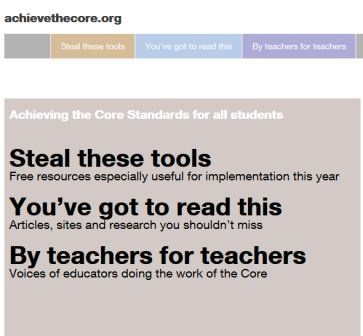 Achievethecore.org is probably the best site you can visit for CCSS implementation.  It's not fancy, but the stuff there is SOLID!  They don't have many images to pin, so this pin takes you to another site, not achievethecore.org.  There's a link above the image.  Or, just search for achieve the core and you'll be in good shape!
