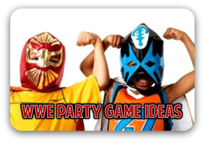 WWE Wrestling Party Theme Ideas for Wrestling Games and Activities