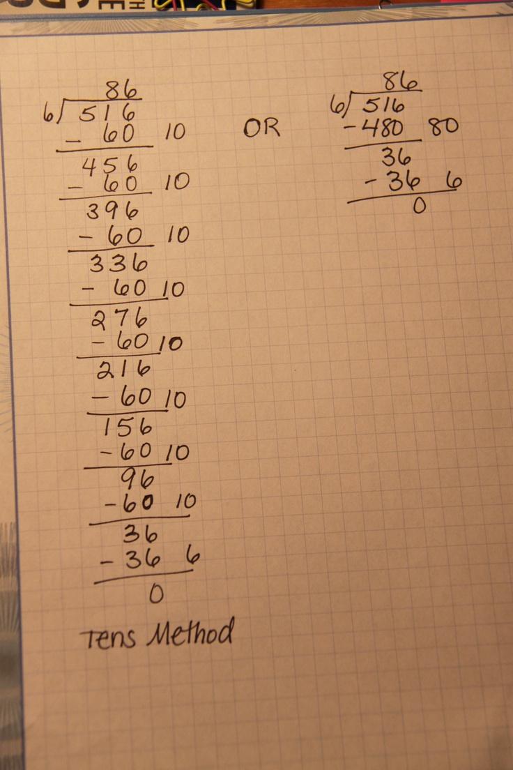 9 besten Math:Division Bilder auf Pinterest | Lehre Abteilung ...