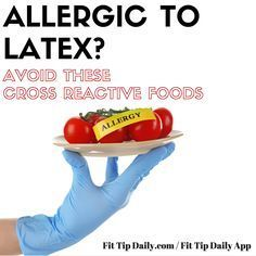 If you have ANY food allergies, you'll want to read this article about cross reactive foods. Latex allergies are highlighted but there's also information on all cross reactive foods.  #crossreactivefoods #foodsallergies #dairyfree #glutenfree