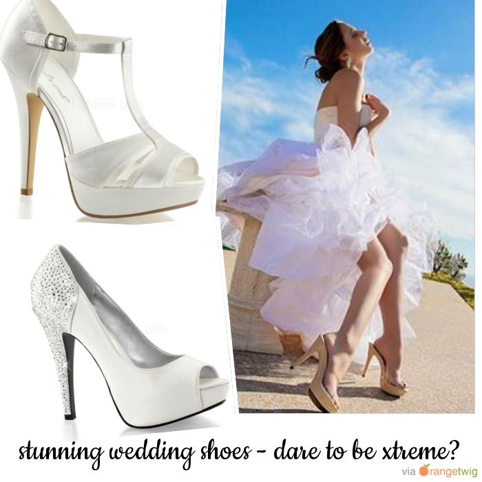 Check out our range of gorgeous shoes ideal for your special day: www.xtremestilettos.com