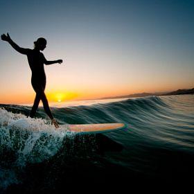 Photo: Evening Glide by Chris Burkard