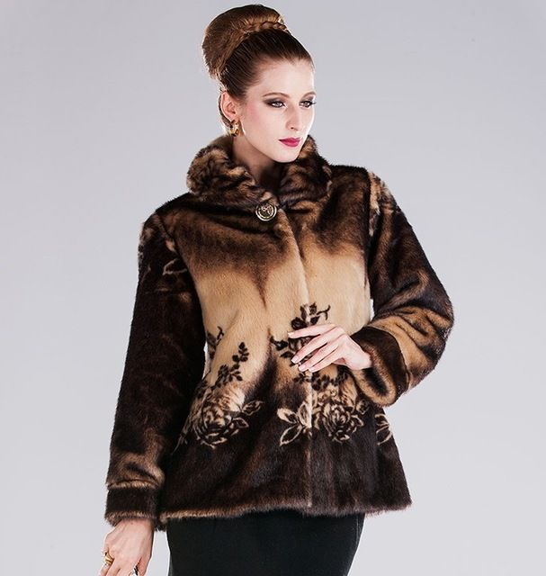 Middle-Aged And Old Women Fur Coat LUXURY FASHION MINK FUR COAT WOMEN WINTER COAT US $59.98 To Buy Or See Another Product Click On This Link  http://goo.gl/yekAoR
