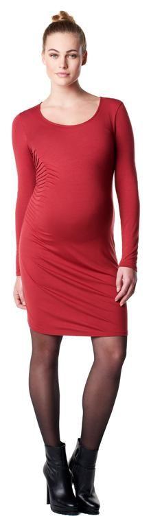 Vestido de embarazo ceñido Ivory 2 ROJO [50622red] - 49,95€ : Tienda premamá online. Moda prenatal para embarazadas y ropa interior para embarazo y lactancia., Demamis.com