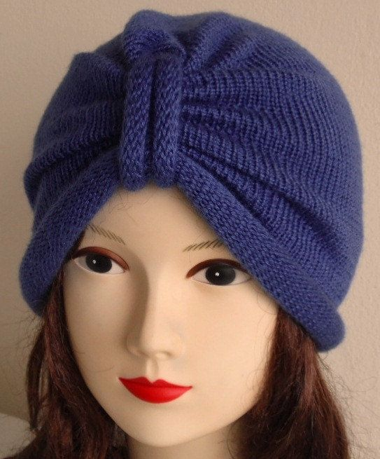 Turban Hat Beanie Turban Hat Knit Hat Women's by accessoriesbyrita, $25.00