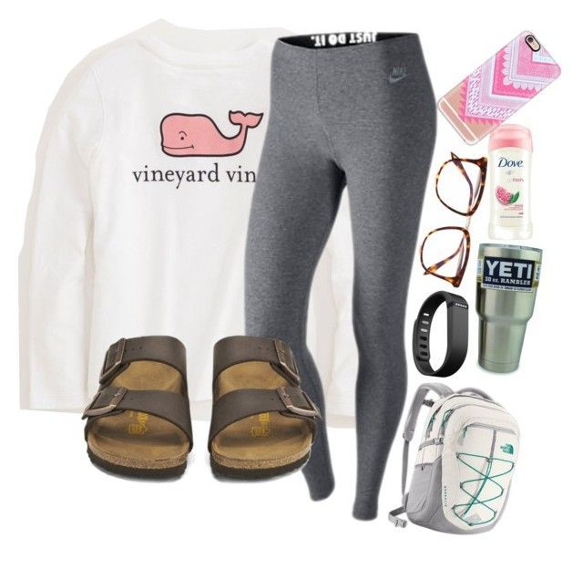 """Is it too late now to say sorry?"" by lacrosse-19 on Polyvore featuring Vineyard Vines, NIKE, The North Face, Birkenstock, Fitbit, Victoria Beckham and Casetify - wide width womens shoes, sexy womens shoes, womens discount dress shoes"