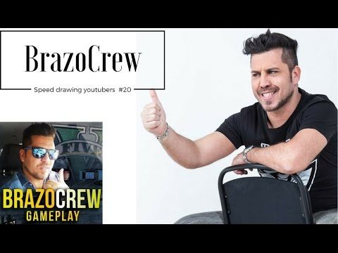 Speed Drawing Youtubers #20 - BrazoCrew