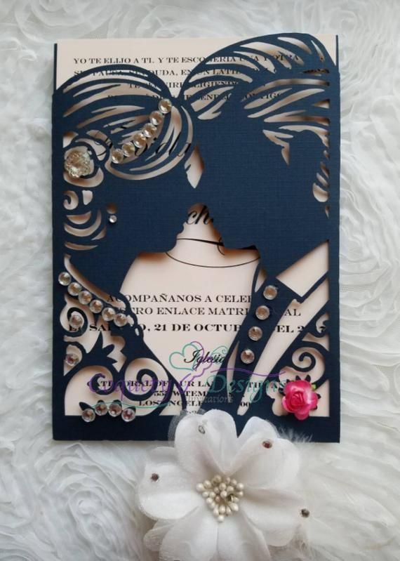 Really Beautiful Wedding Etsy Vest Decor In 2020 Indian Wedding Invitation Cards Wedding Card Diy Beautiful Wedding Invitations