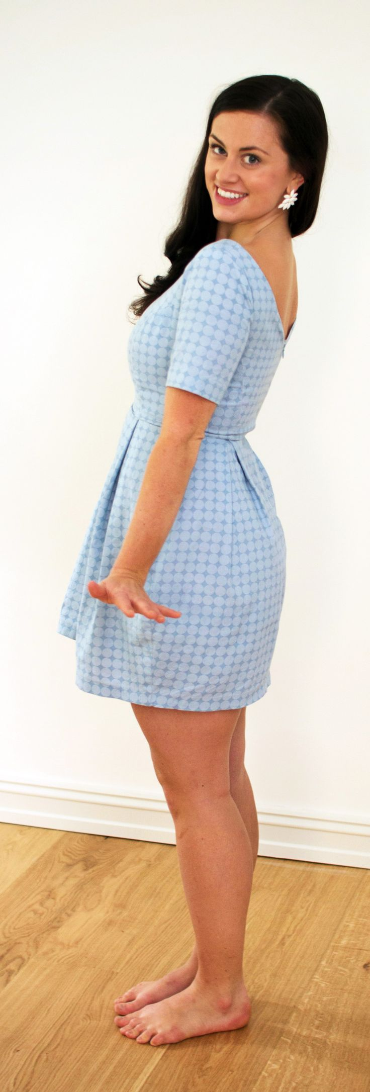 My very first (of many!) #elisalex #dress. Pattern from the talented girls over at @By Hand London