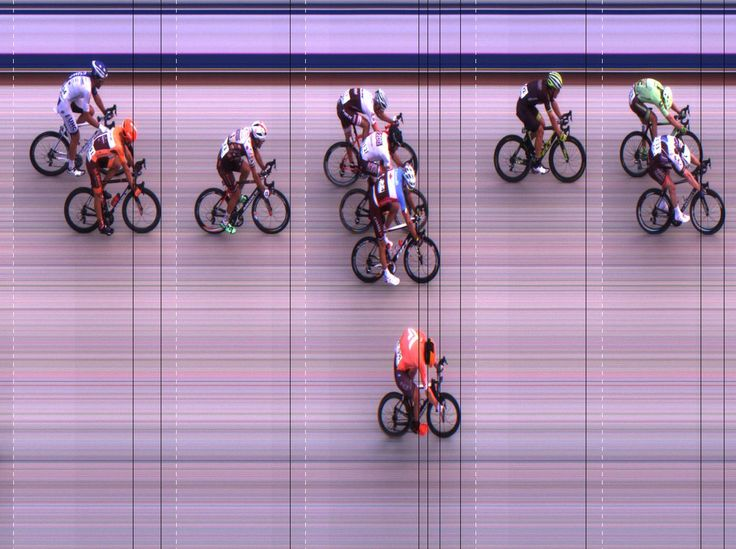 2016 Tour of Alberta Stage 1 FinishLynx Photo-Finish