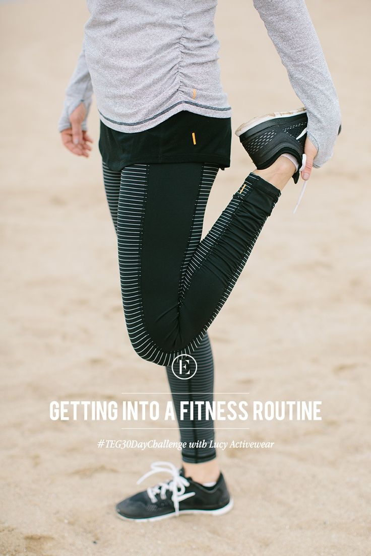The Everygirl 30 Day Challenge: Getting Into a Fitness Routine w/ Lucy Activewear