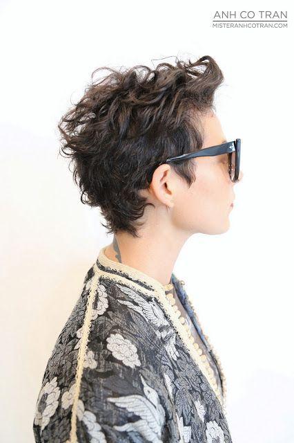 Hey girls...Curls are beautiful! 12 trendy korte kapsels speciaal voor dames met krullen! - Kapsels voor haar