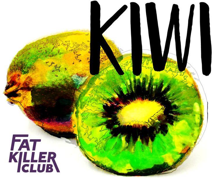 Kiwi contiene molte vitamine, aminoacidi, minerali, fibre.  Il contenuto calorico di kiwi è circa 50 kcal per 100 g. Pertanto, puoi mangiarlo in qualsiasi momento senza paura di aumento il livello dello zucchero nel sangue. https://fatkiller.club #food #kiwi #befit #fitness #fatkillerclub