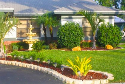 271 best images about front yards on pinterest for Design my front yard