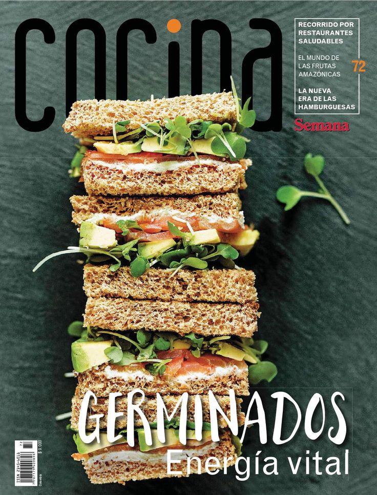 Revista Cocina Semana Colombia. Enero 2016