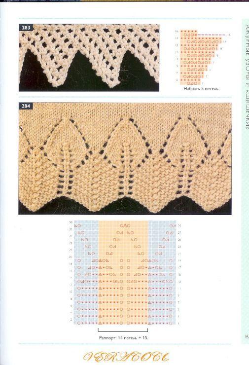 lace knit edge