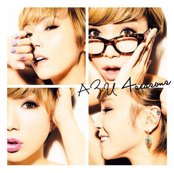 AZU new album 4seasons. cute cover!!!